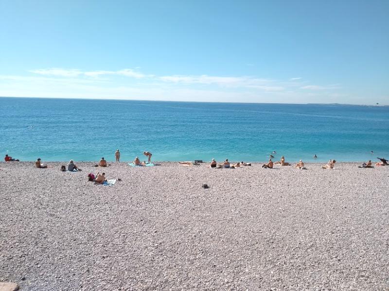 Praia de Nice França