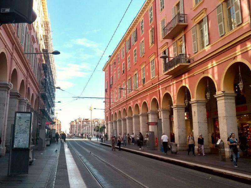 Ruas de Nice - França