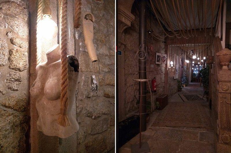 Decoração do Selina, hostel que possui um dos melhores bares no Porto
