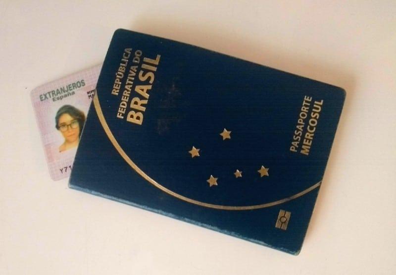 NIE Espanha e passaporte brasileiro